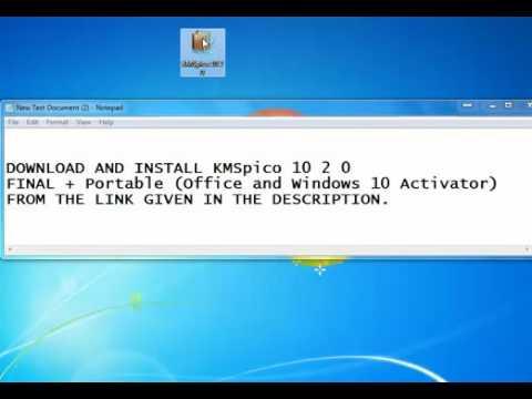 KMSpico 10 2 0 FINAL + Portable (Office and Windows 10 Activator)