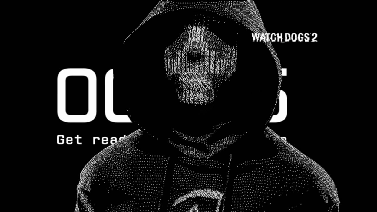 Watch Dogs Dedsec Wallpaper Black And White