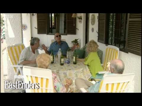 Terry, Pat, Peggy, Frank & Roy in Spain  EastEnders  BBC