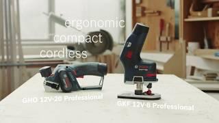 Hands-on precision: Bosch Professional GKF 12V-8 & GHO 12V-20