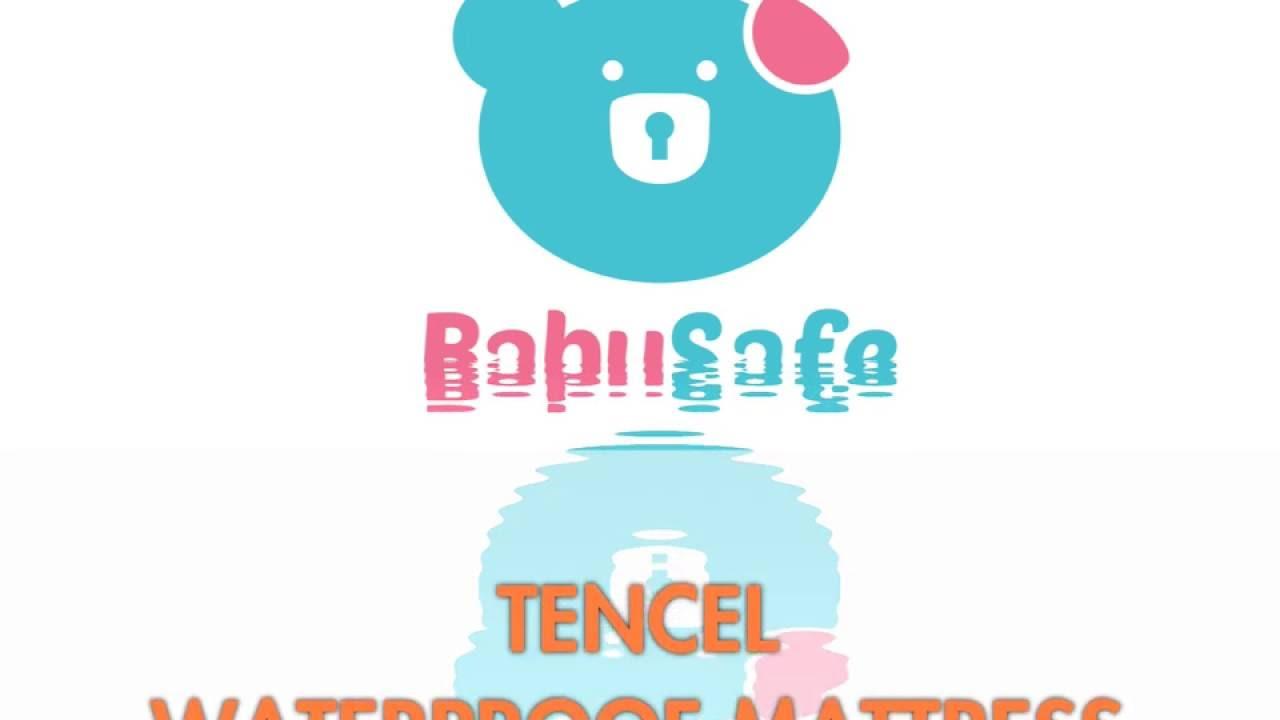 Babysafe Tencel Waterproof Mattress Protector