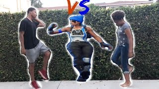Fortnite Dance Challenge In Real Life! Sis vs Bro..Hype, Orange Justice etc..Hilarious Must Watch!!