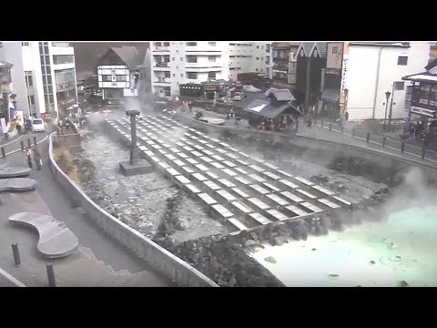 「LIVECAMERA」 草津温泉「湯畑」(移動式ライブカメラ)