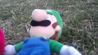 Cute Plush Mario Brothers Bloopers