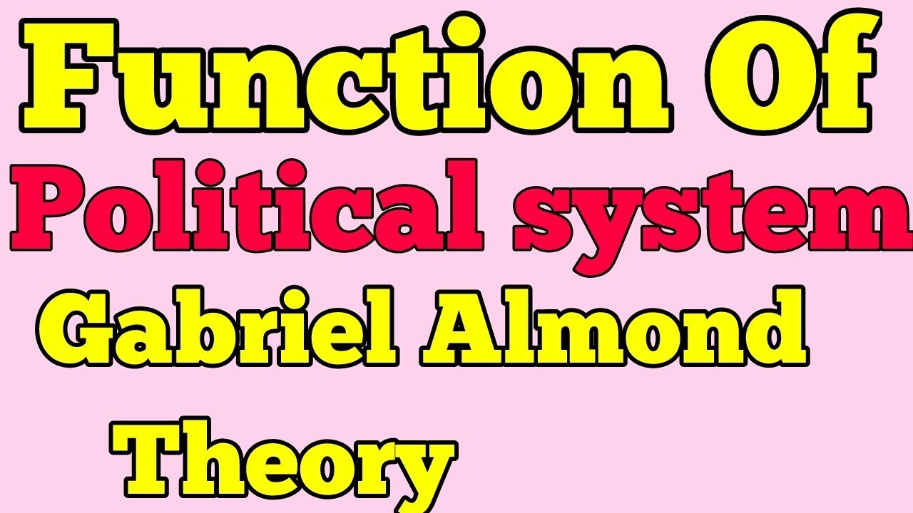 almond political science