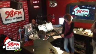 Ryan Sheridan - Walking in the Air - 98FM