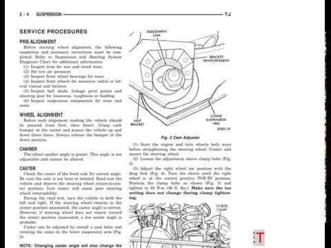 1999 jeep tj wrangler service manual 07. Cooling system.
