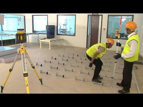 Laser Levelling machine