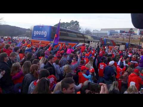 Clemson returns after winning national championship