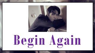 Gambar cover [THAISUB] Kim Jaehwan - Begin Again #เล่นสีซับ