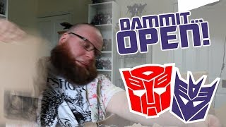 Dammit, Open: Jam and Blast! Channel update and Transformers unboxing!