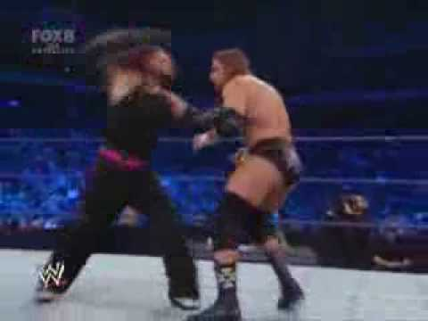 SmackDown- Jeff Hardy vs Triple H. 12-12-08