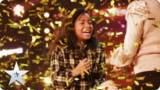 Download Simon's GOLDEN BUZZER: Fayth Ifil is ROLLIN' all the way to the Semi-Finals! | BGT 2020 Mp3 and Videos