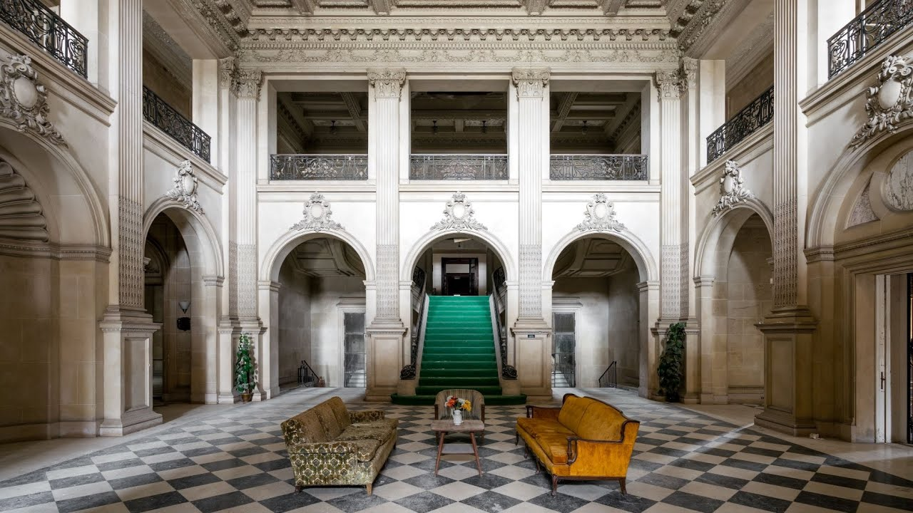 Exploring an Abandoned Gilded-Age Mansion with a Titanic Connection! - Lynnewood Hall - Pt. 1