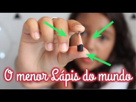 Ana Clara Almeida 🎀 - O MENOR LÁPIS DO MUNDO!