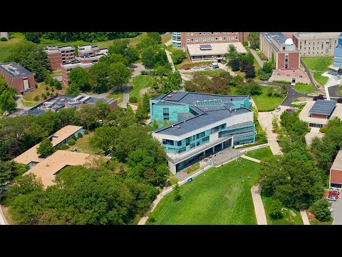 See the Brandeis University Campus — by Air