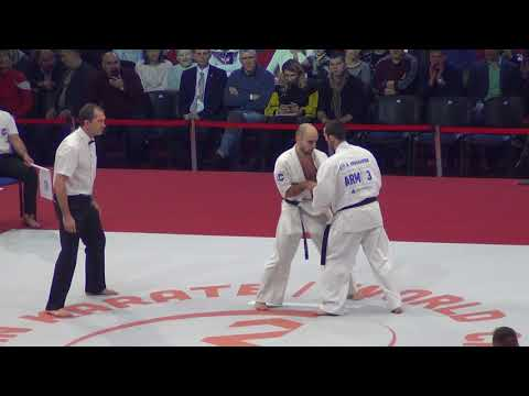 Kyokushin karate world championship-2017. Artur Arushanyan - Farid Kasumov