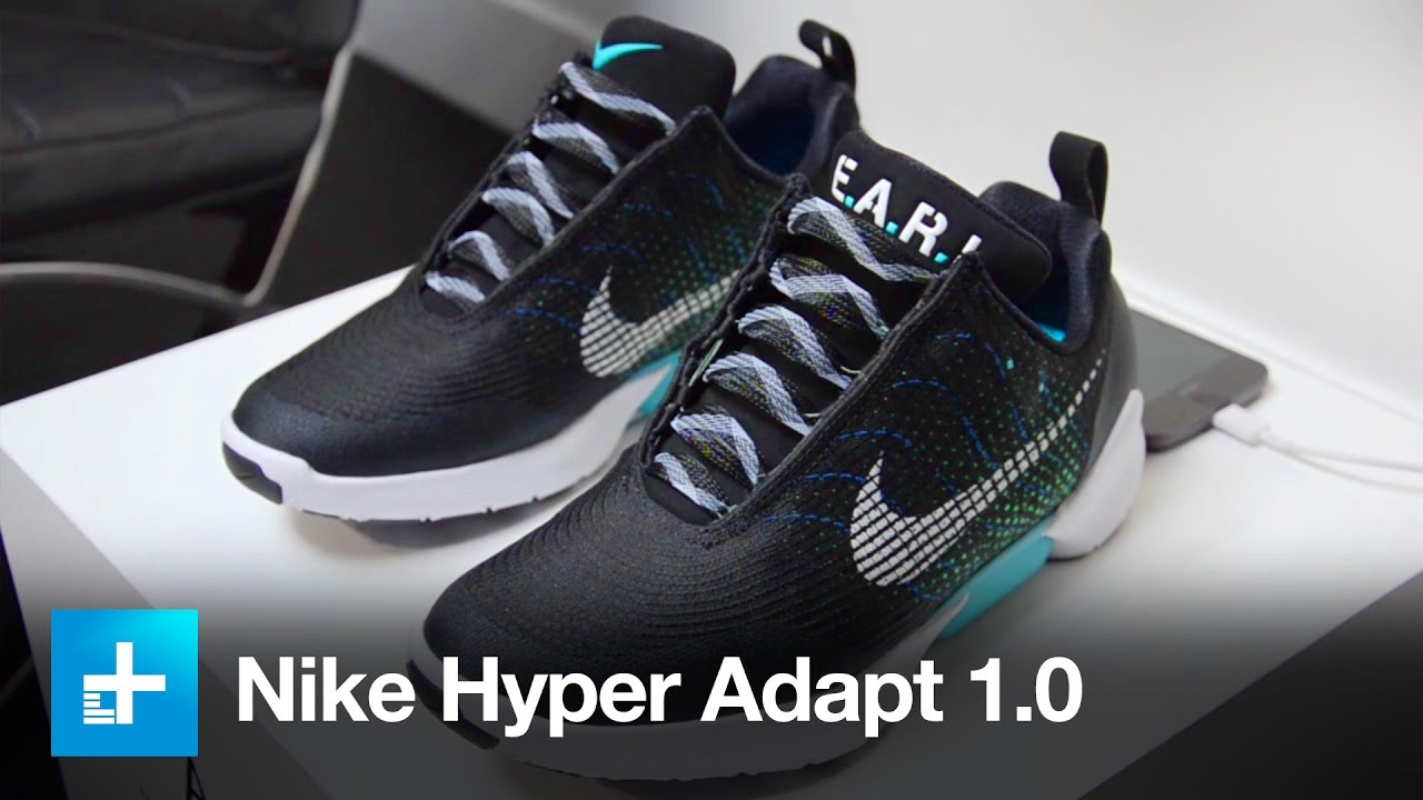 Nike Hyper Adapt 1 0 Self Lacing Shoe Hands On Youtube