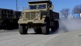 M929 6x6 DUMP TRUCK 5 Ton Military Truck Army Vehicle