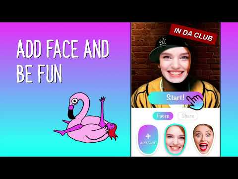 In put a face video you Reface: Face