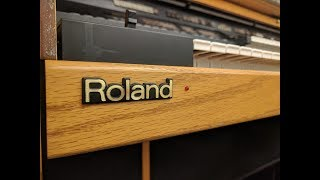 Roland Atelier AT-90S Organ: Doom E1M1