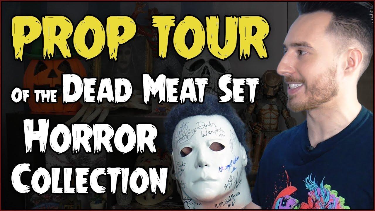 PROP TOUR des Dead Meat Sets und all seiner Horror Collectibles! + video