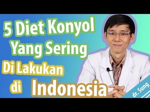 5 Diet Konyol Yang Sering Dilakukan di Indonesia