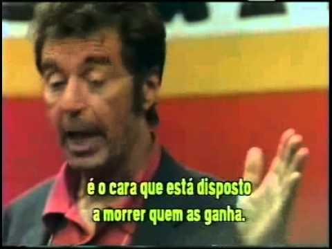 Discurso Motivacional Um Domingo Qualquer Al Pacino