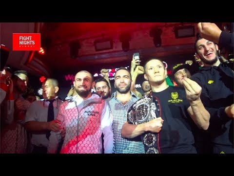 Али Багаутинов vs. Жалгас Жумагулов. Взвешивание FIGHT NIGHTS GLOBAL 95
