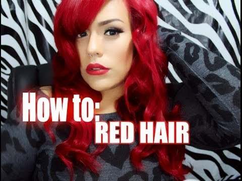 ... Ariel Red Hair From Jet Black Hair Without Bleach | LONG HAIRSTYLES