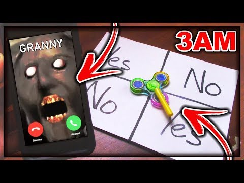 DO NOT PLAY CHARLIE CHARLIE FIDGET SPINNER WHEN TALKING TO GRANNY (FROM GRANNY'S) AT 3AM!! *OMG*