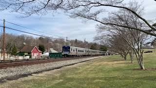 Metro-North Railroad 4k60fps Test Video #2 (Bombardier M7A @ Kensico Cemetery) 4/2/19