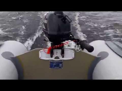 Лодка Кайман N-285 S+лодочный мотор suzuki df 2.5 s (4-х тактный)