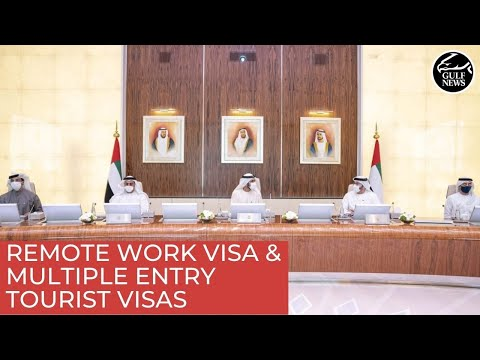 UAE introduces remote work visa, multiple entry tourist visas for all nationalities