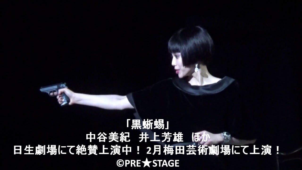 蜥蜴 舞台 黒