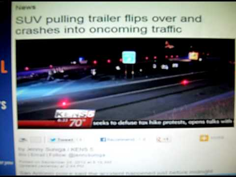 Dangerous Trailers.org Presents Yet Another Defective Trailer Tire Causing Injurys