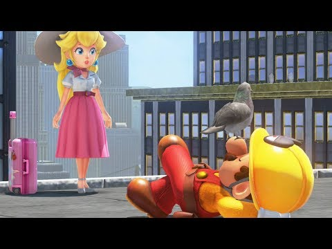 Mario Does Good and Saves the Day - Super Mario Odyssey Deluxe