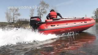 Лодка ФРЕГАТ М-430 FM Lux + Tohatsu 50 + водомет