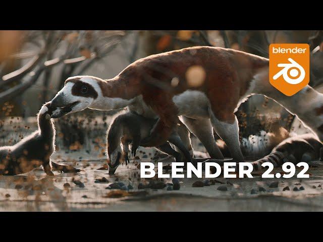 Обзор Blender 2.92