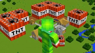 BECOMING A GIANT IN MINECRAFT!