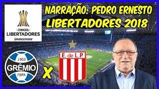 Grêmio 2(5) x (3)1 Estudiantes - Pedro Ernesto - Rádio Gáucha +PÊNALTIS - 28/08/2018