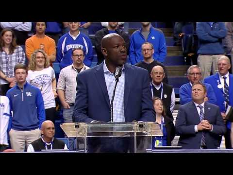 Kentucky Wildcats TV: Tony Delk Ceremony