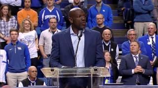 Kentucky Wildcats TV: Tony Delk Ceremony