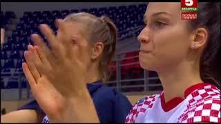 Беларусь-Хорватия (Волейбол Женщины) Belarus-Croatia 21.09.2017