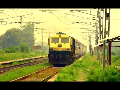 [IRI] Full Speed 19270 Muzaffarpur - Porbandar Express  Skipping Kastla Kasmabad Halt