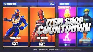 FORTNITE LIVE ITEM SHOP COUNTDOWN 18TH APRIL!!! NEW SKINS?!? Fortnite Battle Royale