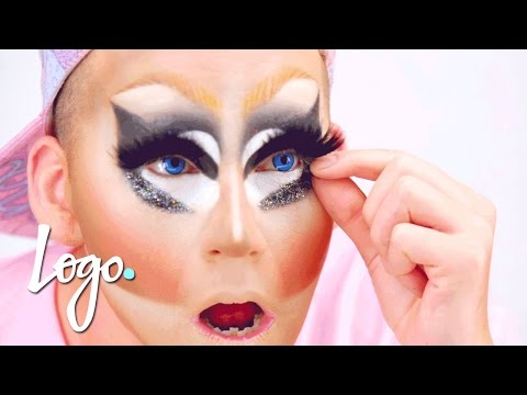 Drag Makeup Tutorial: Trixie Mattel's Legendary Makeup | RuPaul's Drag Race | Logo