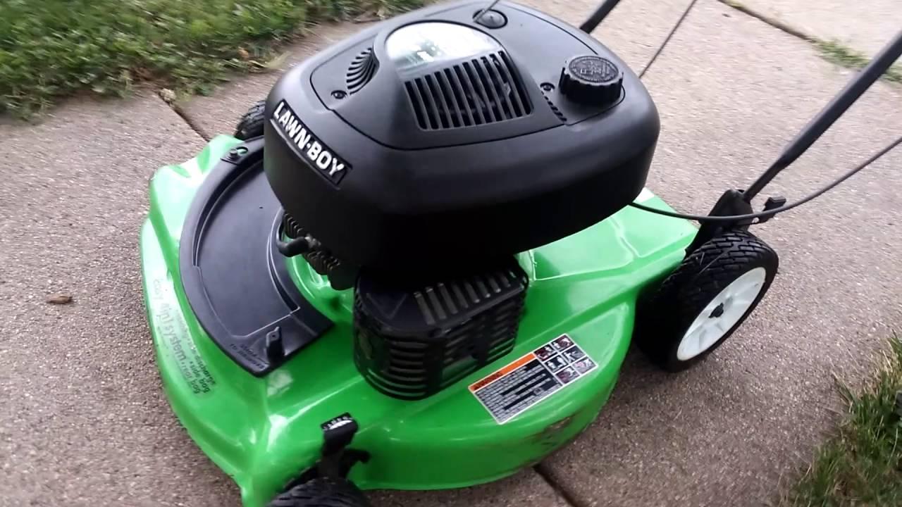 Lawn Boy Duraforce 6 5 Silver Pro 10247 Youtube