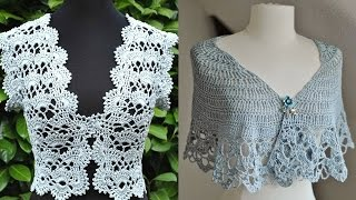 Boleros - Tejidos a Crochet ( Diseños ) thumbnail