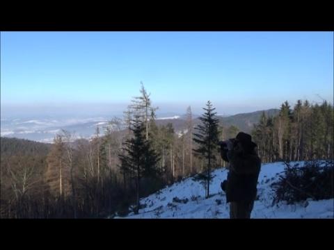 Výlet k rozhledně Doubrava 14. 2.  2017